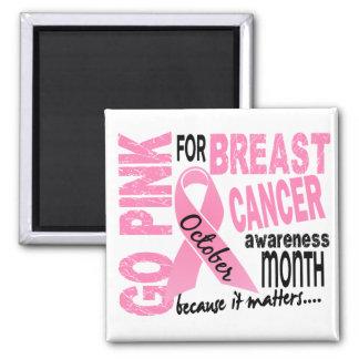 Breast Cancer Awareness Month Fridge Magnets