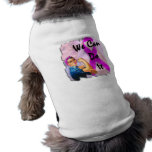 Breast Cancer Awareness Month, Rosie the Riveter Sleeveless Dog Shirt