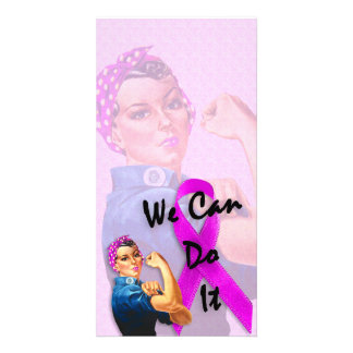 Breast Cancer Awareness Month, Rosie the Riveter Photo Cards