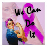 Breast Cancer Awareness Month, Rosie the Riveter Poster