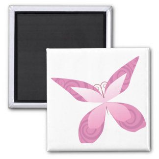 breast cancer awareness month square magnet