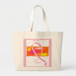 Breast Cancer Awareness month tote