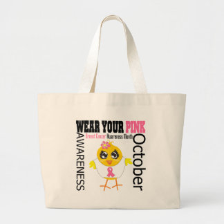 Breast Cancer Awareness Month v1 Jumbo Tote Bag