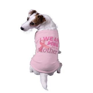 breast cancer awareness mother.png sleeveless dog shirt
