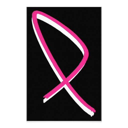 Pink ribbon breast cancer uk