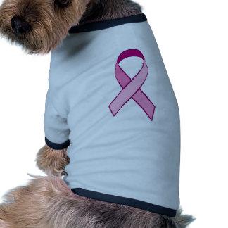 Breast Cancer Awareness - Pink Ribbon Pet Shirt