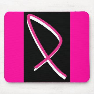Breast Cancer Awareness Pink Ribbon I Mouse Pad