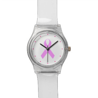 Breast Cancer Awareness Pink Ribbon Watches