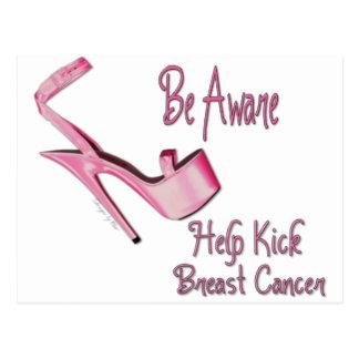 Breast Cancer Awareness Postcard