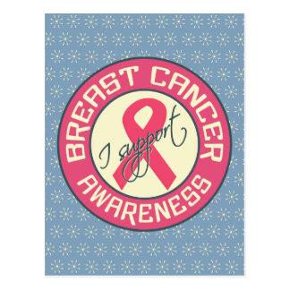 Breast Cancer Awareness postcard, customize Postcard