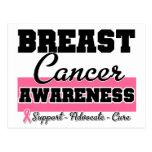 Breast Cancer Awareness Postcards