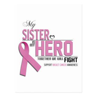 Breast Cancer Awareness: sister Postcard
