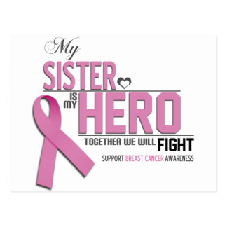 Breast Cancer Awareness: sister Postcard