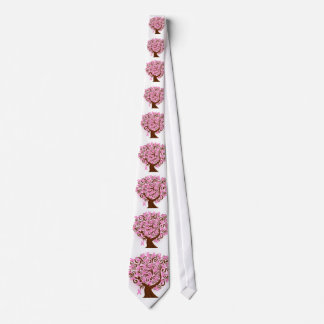 Breast Cancer Awareness Tree Tie
