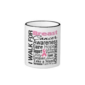 Breast Cancer Awareness Walk Coffee Mugs