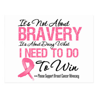 Breast Cancer Battle Post Card