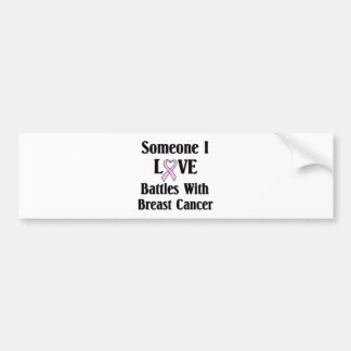 Breast Cancer Bumper Sticker