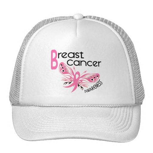 Breast Cancer BUTTERFLY 3.1 Mesh Hats