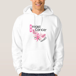 Breast Cancer BUTTERFLY 3.1 Hoodie