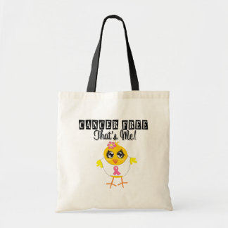 Breast Cancer - Cancer Free That's Me Budget Tote Bag