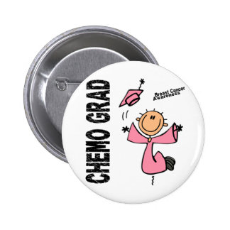Breast Cancer CHEMO GRAD 1 6 Cm Round Badge