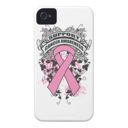 Breast Cancer - Cool Support Awareness Slogan Case-Mate iPhone 4 Case