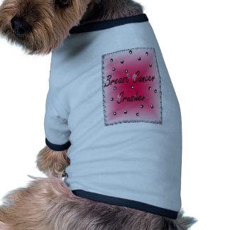 Breast Cancer Crusher Doggie T Shirt