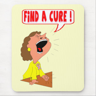 Breast Cancer Cure Mousepad