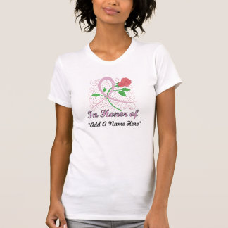 Breast Cancer Customisable Tshirt