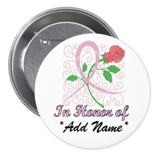 Breast  Cancer Customizable Large Round Button