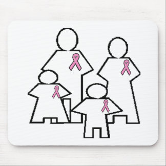 Breast Cancer Family Battle Mouse Pads