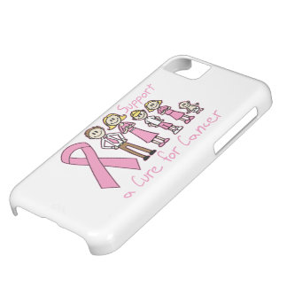 Breast Cancer Family Support A Cure iPhone 5C Case