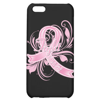 Breast Cancer Fight Like a Girl Flourish iPhone 5C Covers