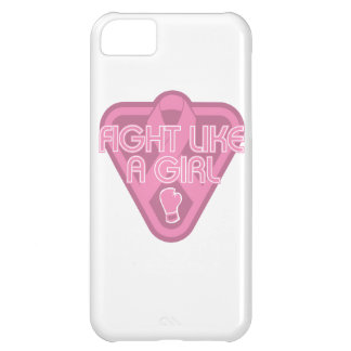 Breast Cancer Fight Like A Girl Glove iPhone 5C Case