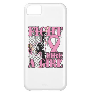 Breast Cancer Fight Like A Girl Kick. iPhone 5C Case