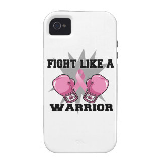 Breast Cancer Fight Like a Warrior iPhone 4 Covers