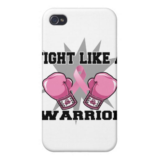 Breast Cancer Fight Like a Warrior Covers For iPhone 4