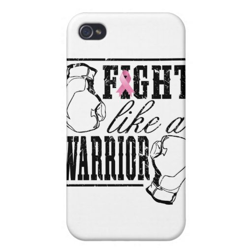 Breast Cancer Fight Like a Warrior Case For iPhone 4