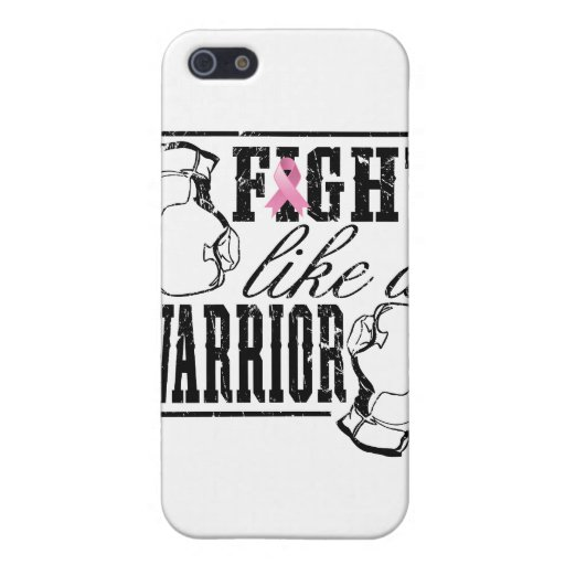 Breast Cancer Fight Like a Warrior iPhone 5 Case