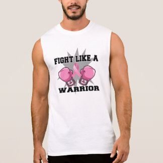 Breast Cancer Fight Like a Warrior Sleeveless Shirt