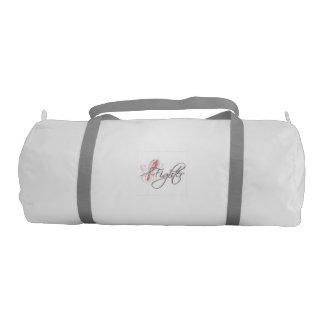 breast cancer fighter gym bag gym duffel bag
