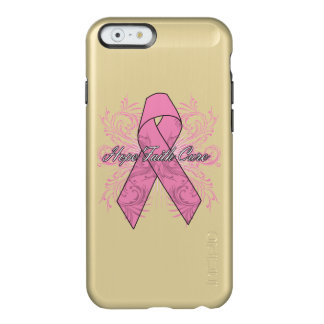 Breast Cancer Flourish Hope Faith Cure Incipio Feather® Shine iPhone 6 Case
