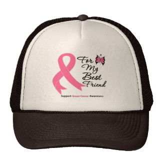 Breast Cancer For My Best Friend Trucker Hat