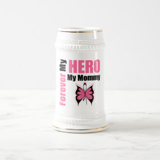 Breast Cancer Forever My Hero My Mommy Mug