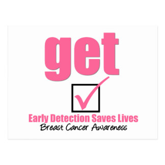 Breast Cancer Get Checked v1 Postcard
