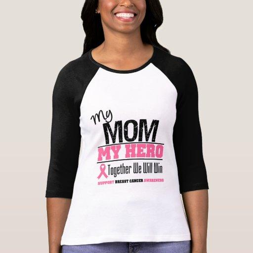 Breast Cancer Hero (Mom) Tshirts