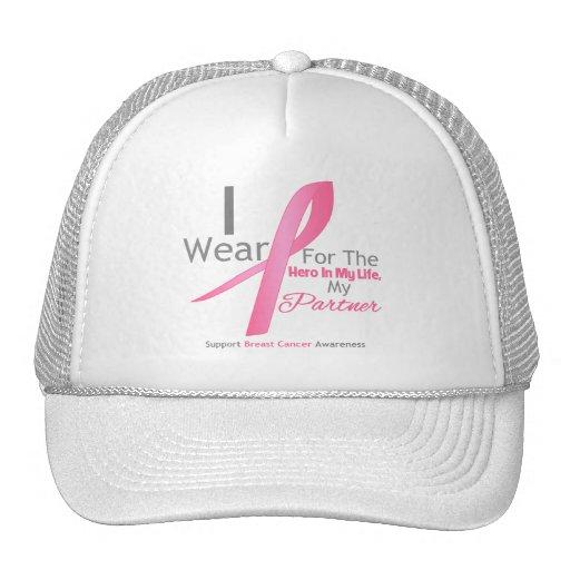 Breast Cancer Hero - Partner Trucker Hats