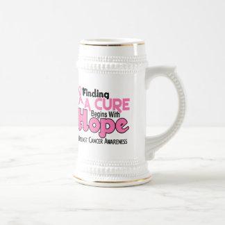 Breast Cancer HOPE 5 Coffee Mugs