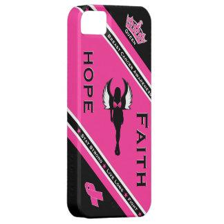 Breast Cancer Hope & Faith iPhone 5 Case