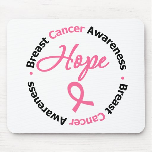 Breast Cancer Hope Mouse Pad